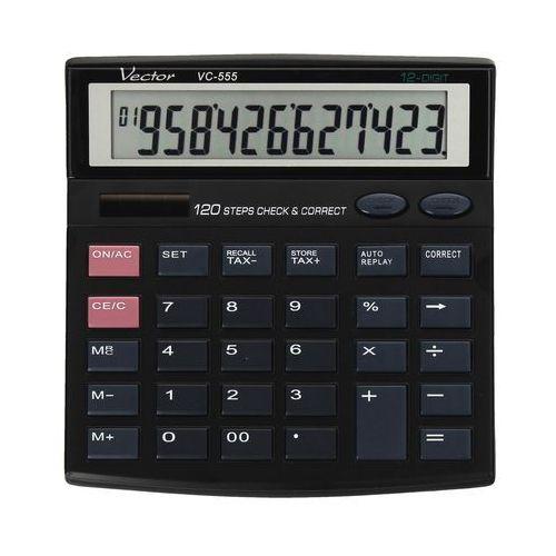 Kalkulator 12pozycyjny vc555  marki Vector. Najniższe ceny, najlepsze promocje w sklepach, opinie.
