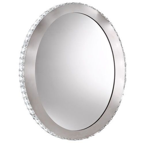 Kinkiet Eglo Toneria 94085 lustro z oświetleniem 1x36W LED 4000K fi650 chrom/kryształ