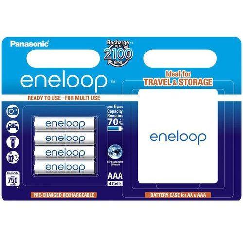 Akumulator bk-4mcce-box eneloop r03/aaa 750 mah (4 szt.) marki Panasonic