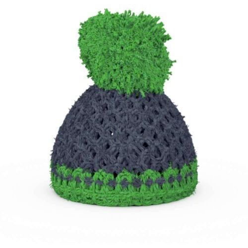 - czapeczka na podstawkę do jajek - szaro-zielona marki 58products