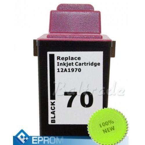 Eprom Tusz lexmark nr 70 / 71 black 25 ml (15mx971e/12ax970e)