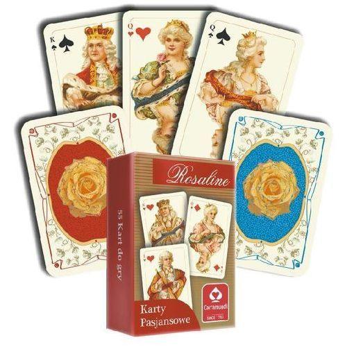 OKAZJA - Karty pasjansowe. Rosaline 1x55 listków (5901911002396)