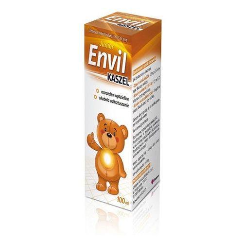 Envil kaszel junior (Ambroxol Aflofarm) syrop 0,015 g/5ml 100 ml (butelka) (5909990373710)