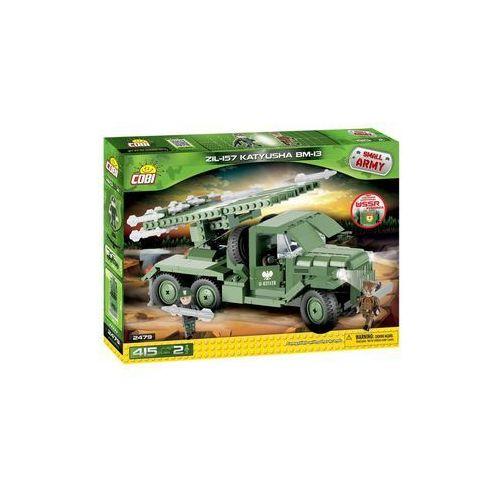 Cobi Armia bm-13 katiusza zil-157 400 elementów