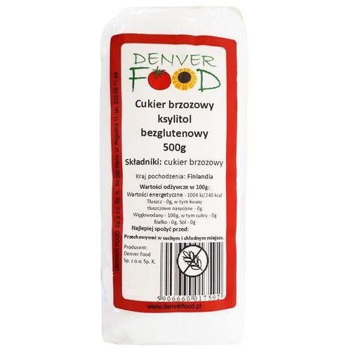 Denver food Cukier brzozowy, ksylitol bezglutenowy 500 g - OKAZJE