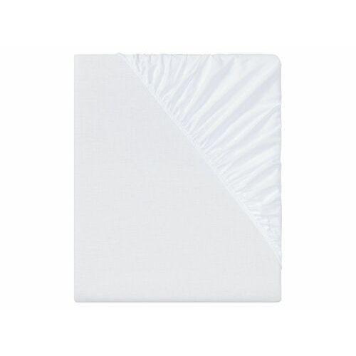 Meradiso® prześcieradło z gumką z tkaniny chambray