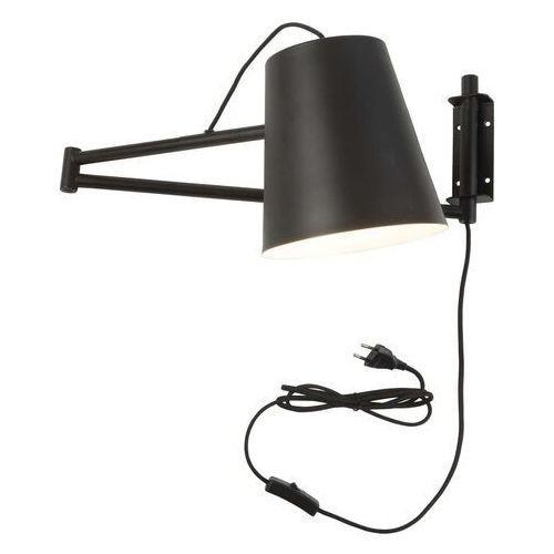 lampa ścienna brisbane/w/b czarna brisbane/w/b marki It's about romi