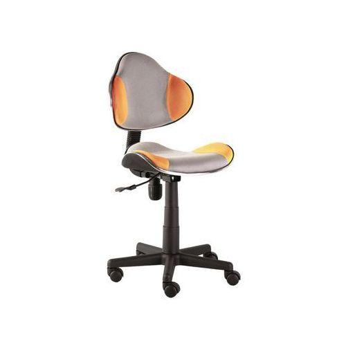 Fotel q-g2 pomarańczowy szary marki Signal meble