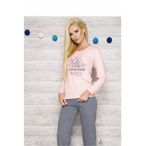 Piżama Damska Model Sylwia 286 AW/17 K1 Pink