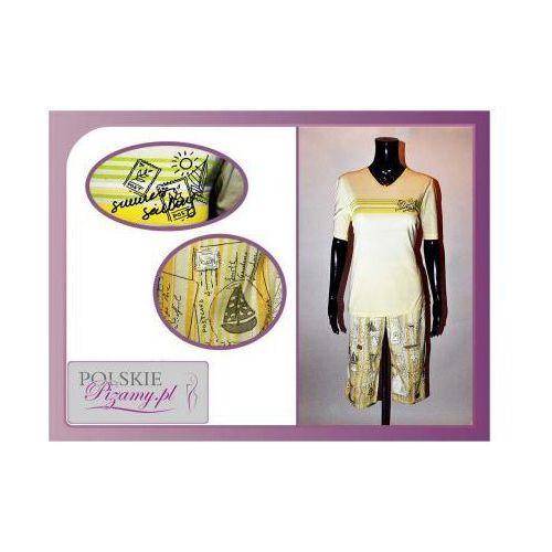 Piżama damska IDA: żółty