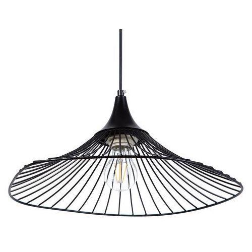 Lampa wisząca czarna MAZARO, kolor Czarny