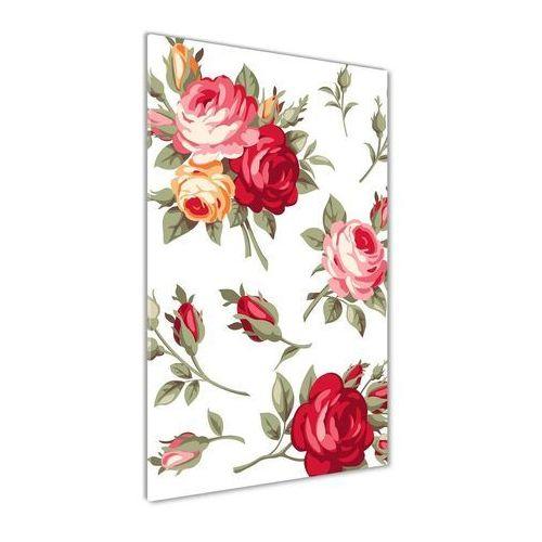 Foto obraz szkło hartowane Dzika róża
