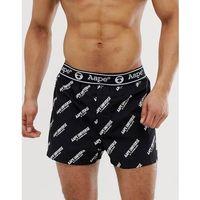 Aape by a bathing ape� Aape by a bathing ape all over logo print boxers in black - black