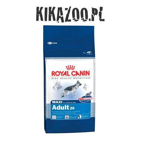 Karma Royal Canin Dog Food Maxi Adult 15kg + DOLINA NOTECI PIPER z sercami z kurcz i ryżem 400g 3182550401937 - odbiór w 2000 punktach - Salony, Paczkomaty, Stacje Orlen