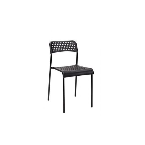 Modesto krzesło davis czarne - polipropylen, metal marki Modesto design