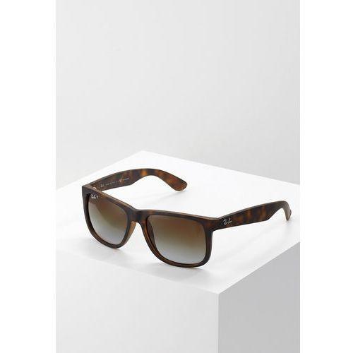 Okulary przeciwsłoneczne Ray-Ban Justin RB4165 - 865/T5 POL, kolor brązowy