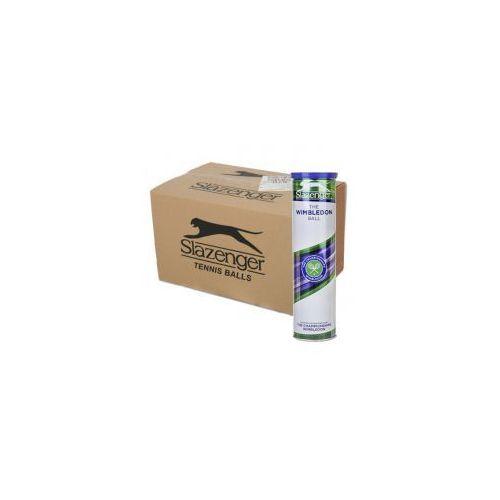 wimbledon karton 72 piłki marki Slazenger