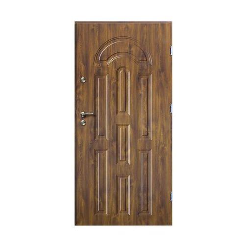O.k.doors Drzwi zewnętrzne azzuro 80 prawe złoty dąb