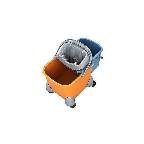 wózek z dodatkowym wiadrem i wyciskarką z tworzywa sztucznego piko iv marki Splast