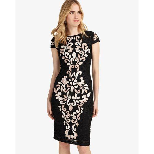 Phase Eight Perdy Tapework Dress, kolor czarny