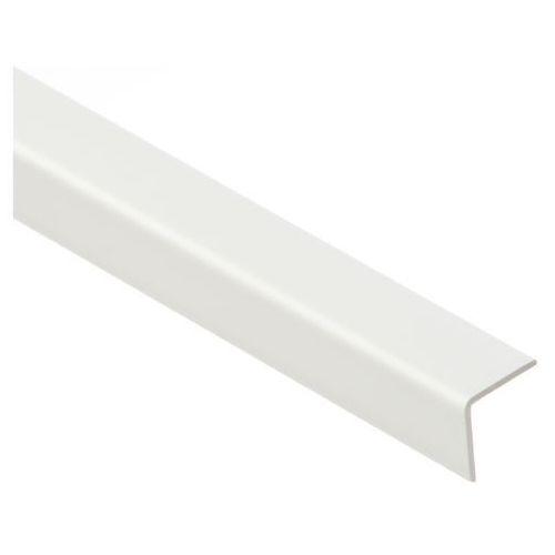 Kątownik PCV Cezar 40 x 40 x 1,1 mm 1 m biały, 84867071