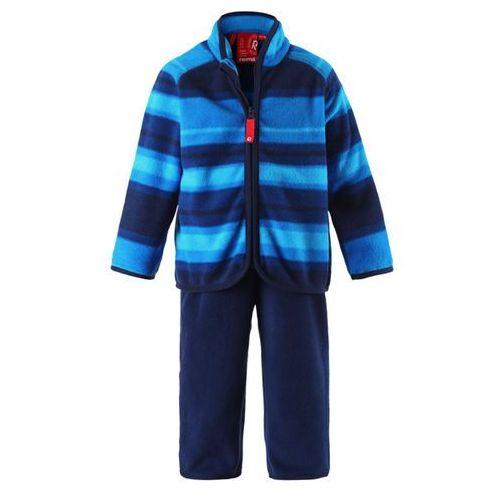 Komplet polarowy dwuczęściowy Reima FURUD bluza/spodnie niebiesko-granatowy ()