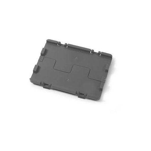 Składana pokrywa z zawiasami, opak. 4 szt., dł. x szer. 300x200 mm, szary. łatwy marki Häner