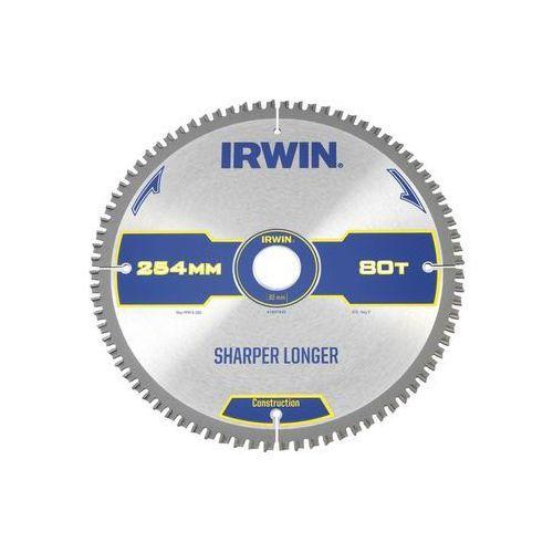 Tarcza do pilarki tarczowej 254MM/80T M/30 śr. 254 mm 80 z IRWIN CONSTRUCTION