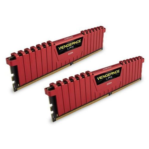 Corsair Vengeance Low Profile DDR4 2 x 8GB 2400 CL16 (czerwony) (0843591082877)