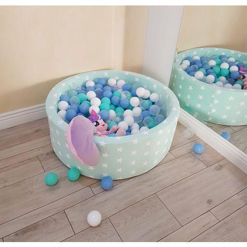 Miętowy basen stars + piłki do wyboru marki Meow