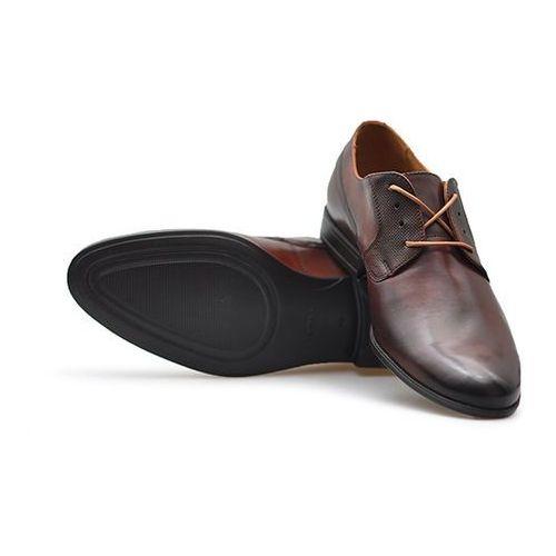 Pantofle 7572 jasny brąz lico marki Badura
