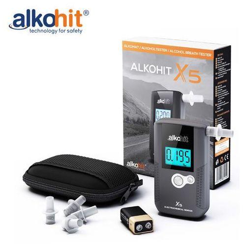 Alkomat alkohit X5 skalibrowany z gwarancją