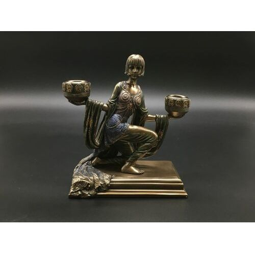 Veronese Świecznik z klęczącą lady (wu74959a4)