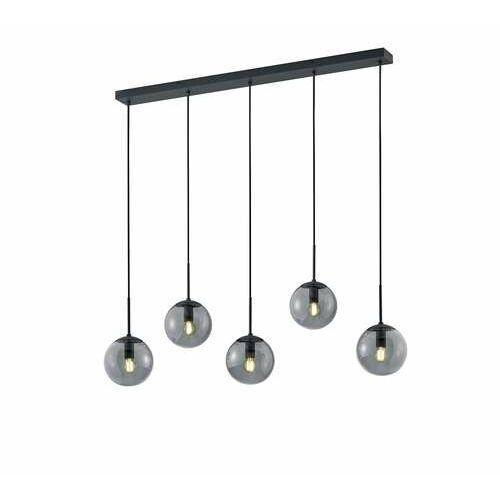 Trio Balini 308500542 lampa wisząca zwis 5x28W E14 antracytowa/dymiona, kolor Antracyt