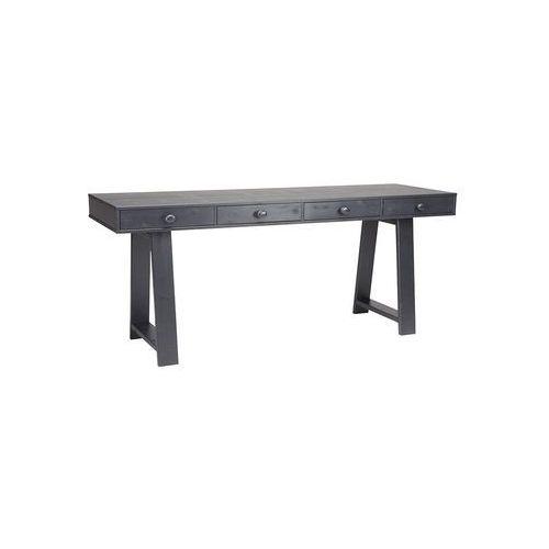 Woood stolik z szufladami czarny 390115 (8714713013890)