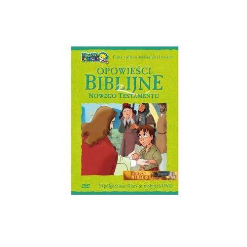 Opowieści Biblijne z Nowego Testamentu (box 6 płyt DVD)