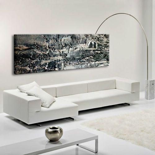 "Obrazy nowoczesne - strukturalna abstrakcja - ""stare srebro"""