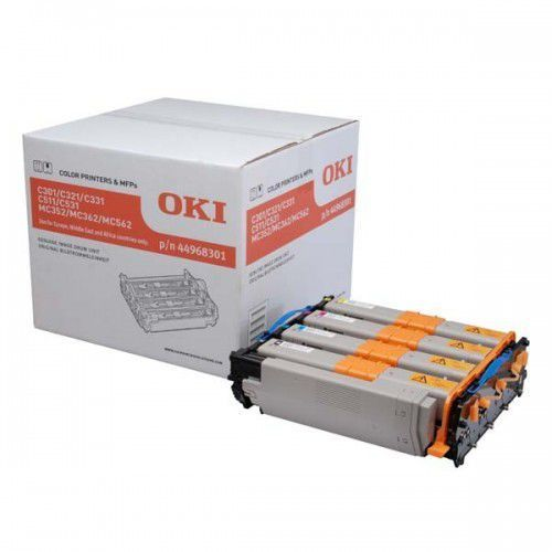 OKI 44968301 drum kit black and tri-colour standard capacity 30.000 pages 1-pack (5031713054702)