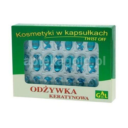 Odżywka Keratynowa Twist Off kapsułki x 48 /Gal (5907501101074)