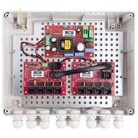 -ip8/z/e-s zestaw zasilania do 8 kamer ip - switch i obudowa zewnętrzna bcs marki Bcs