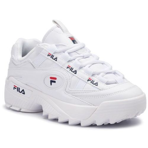 Sneakersy FILA - D-Formation Men 1CM00489.125 White/Fila Navy/Fila Red, kolor biały