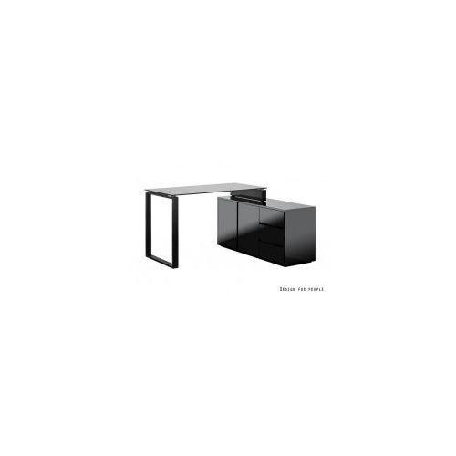 Biurko Marin czarne lakierowane, TCD-1300