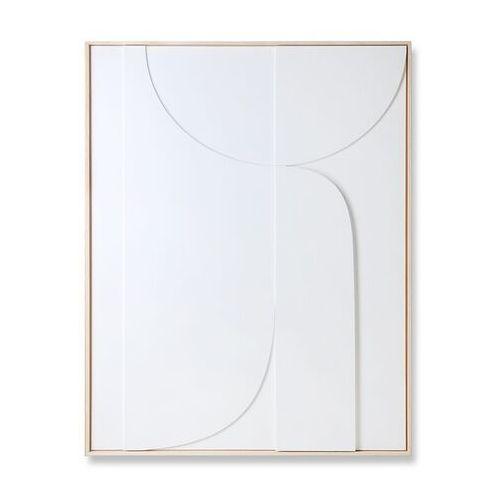 Hkliving obraz relief b biały (97x120) awd8920 (8718921037518)