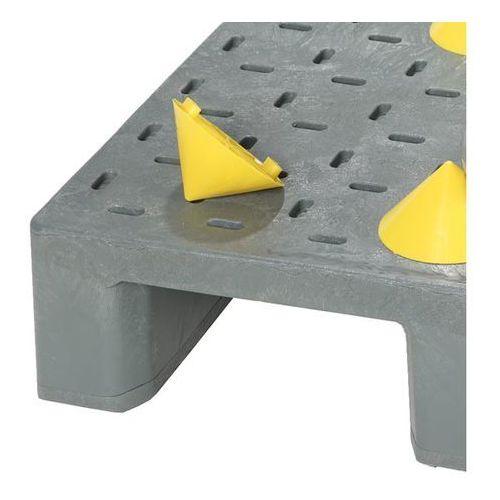 Kiga kunststofftechnik Pinezka do zabezpieczania ładunku, wys. x Ø 64x120 mm, opak. 4 szt., od 10 opak.