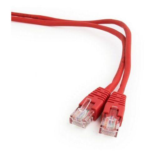 Patch cord UTP kat. 5e 5m czerwony Gembird, PP125M/R