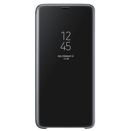 Samsung Galaxy S9+ Clear View Standing Cover EF-ZG965CB (czarny) (8801643098445)