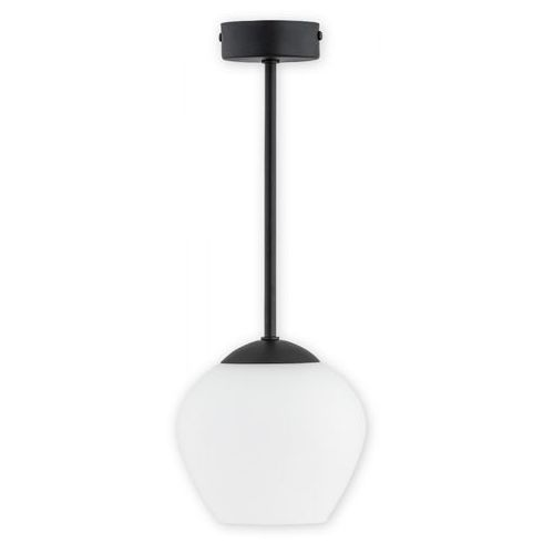 Lemir Molto O2781 W1 CZA lampa wisząca zwis 1x60W E27 czarny mat, O2781 W1 CZA