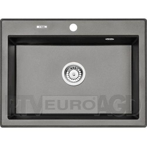 zqe_t103 zlew.eridan antracyt metalik granit 1k 700x520x210 + space saver - nowość marki Deante