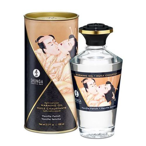 Olejek do masażu - Shunga Aphrodisiac Warming Oil Vanilla Fetish 100 ml, SN042B