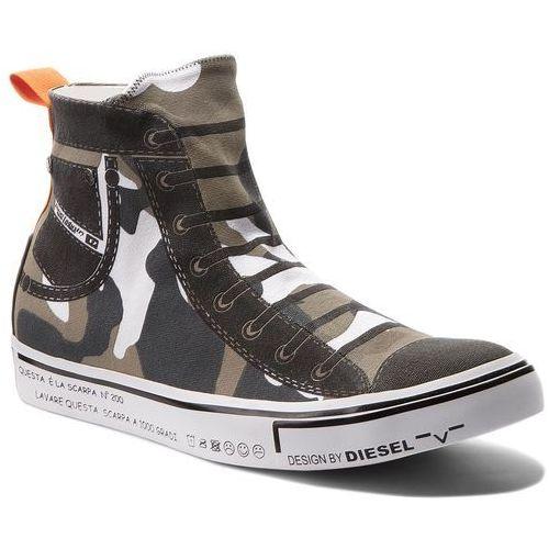 Sneakersy - s-imaginee mid slip-on y01699 p1640 h5254 military coamou, Diesel, 40-42
